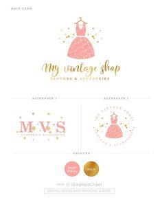 Trendy baby clothes logo design names Logo Moda, Dress Logo, Unique Baby Clothes, Baby Boutique Clothing, Blog Logo, Fashion Logo Design, Boutique Logo, Clothing Logo, Kids Logo