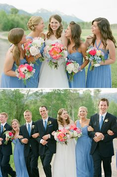 Jackson Hole wedding by Carrie Patterson #weddings #bridal expos #bridesclub