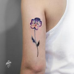 Perfect flower tattoo.                                                                                                                                                                                 More