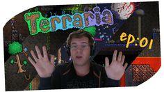 Terraria Ep01 - DukeP00L Sei Tu L'Uomo Dai Capelli Verdi