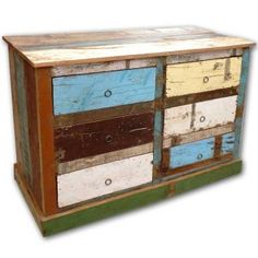 from recycled wood