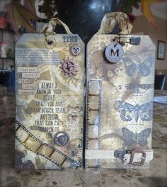 Vintage Tags at StampsAndScrapbooks.com