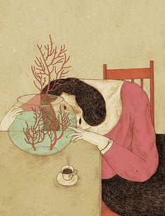 Monica Barengo: illustrazioni fiabesche per occhi romantici