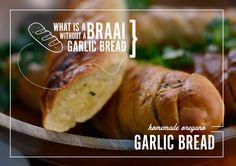 Garlic Bread, Fabulous Foods, Baked Potato, Homemade, Baking, Ethnic Recipes, Home Made, Bakken, Backen