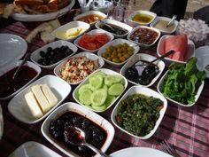 A Seasonal Cook in Turkey: The Great Turkish Breakfast