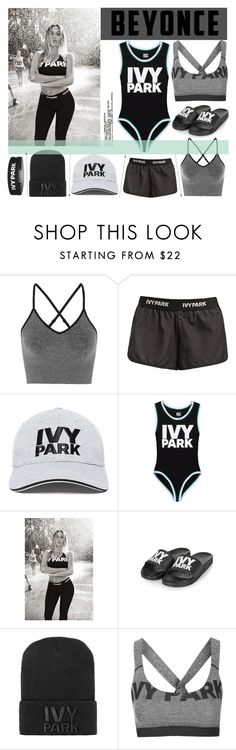 """Ivy Park"" by agg1994 ❤ liked on Polyvore featuring Ivy Park, Topshop and Beyonce"