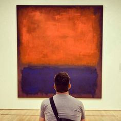 Mark Rothko No 14, 1960, the most photographed Work of Art from the Collection of San Francisco Museum of Modern Art