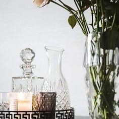 »Mein kleiner Salon« | Karaffe und Weinbranddekanter von ROYAL SCOT
