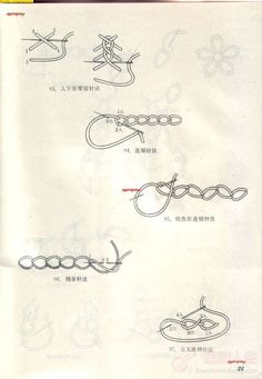 刺绣的基本针法