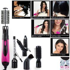 6 pasos para lograr unos rizos perfectos y envidiables. #Dupree #Mujer #cabello #peinado