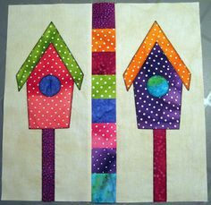 A Home for the Birds |  Aiming for Accuracy Pattern Co.-free pattern