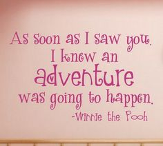 This would be a cute quote for the nursery
