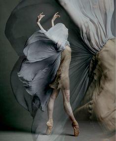 "lifeasawaterelement: """" Kate Hosier (National Ballet of Canada) ©Karolina Kuras "" "" Ballet Poses, Ballet Art, Dance Photography, Creative Photography, Fabric Photography, Photo Print, Dance Movement, Dance Pictures, Dance Art"