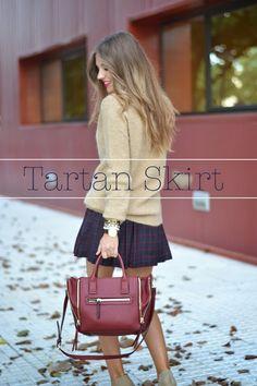 TARTAN SKIRT | Mi aventura con la moda