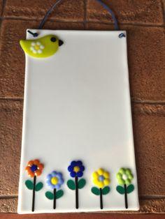 Fused dry erase board for Susans bday
