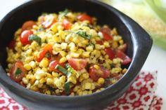Smart Balance Recipe - Grilled Corn Salad