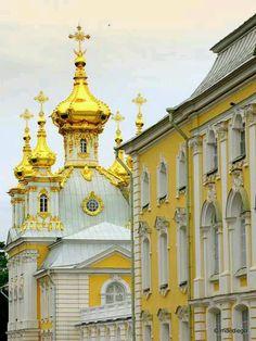 Peterhof, Russia#beauty
