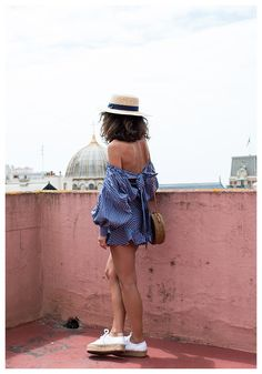 """How Laura Albouy stays stylish in """"slow fashion."""""""