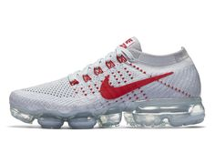 Preview: Nike WMNS Air VaporMax 'Pure Platinum/University Red' - EU Kicks: Sneaker Magazine