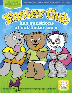 Foster Care Coloring Book