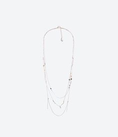 ZARA - MUJER - Collar Untitled jewels collection