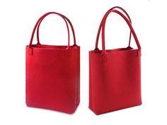 Solid Color Felt Tote Bag | Buyerparty Inc.