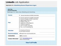 Want a Job? Here Are Six LinkedIn Tips - Forbes