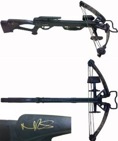 Norman-Reedus-Daryl-Dixon-AutographedSigned-Full-Size-Camflauge-Horton-Bone-Collector-Crossbow-0