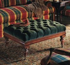 Berkley Ottoman from the Henredon Upholstery collection by Henredon Furniture