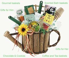 Gardening Basket Gift Ideas find this pin and more on mothers day gifts and ideas Garden Design Garden Design With School Fundraiser Ideas On