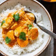 Einfaches Chicken-Curry mit Kokosmilch (30 Minuten!) - Kochkarussell