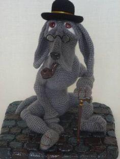 Шерлок - Моя галерея - Галерея - Форум почитателей амигуруми (вязаной игрушки)