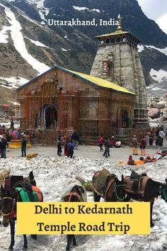 #Kedarnath Temple is located at 11,755 feet in the Garhwal Himalayan range of #Uttarakhand, on the banks of Mandakini River near the Chorababari glacier. It is a Hindu #Temple (Shrine) dedicated to Lord Shiva and is also one of the Jyotirlinga. Read all about #kedarnathtemple here. #uttarakhand #kedarnathtrek #kedarnathtempletrek #kedarnathtravelguide #kedarnathtemplephotography