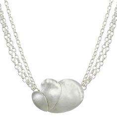 Fanned Teardrop Necklace