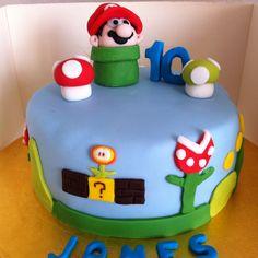 Latest caking adventure! Super Mario Cake <3 #cake #Nintendo
