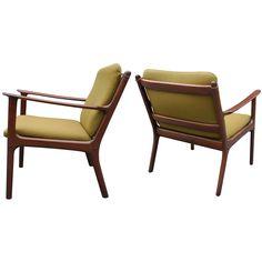 Pair Ole Wanscher Armchairs