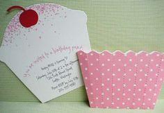cupcake card- cupcake party?