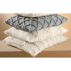 Modell 219/5, Modell 220/5 und Modell 222/5, Kissenhüllen aus Landwolle von Junghans-Wolle « Schönes für Zuhause « Strickmodelle Junghans-Wolle « Stricken & Häkeln im Junghans-Wolle Creativ-Shop kaufen