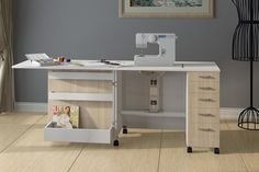 sewing cabinet CE-7 sewing table andy@luxhome.cc