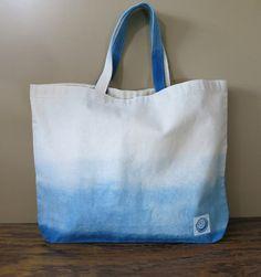 Aizome Japanese indigo shibori Canvas Tote Bag [TB-1]