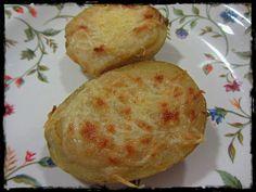El Puchero de Morguix: Patatas rellenas de foie