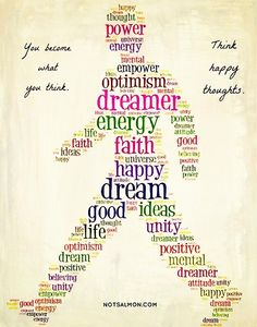You become what you think. Think happy thoughts ... #inspirational #quotes