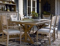 Paula Deen Table And Chairs Chair Lifts For Stairs With Landings 63 Best Furniture Images River House Universal Down Home Family Style Trestle In Oatmeal Available At Furnitureland South