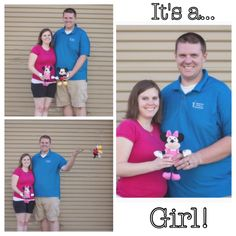 Disney Gender Reveal by Courtney Handl Photography Maternity Pictures, Pregnancy Pictures, Disney Gender Reveal, Baby Gender, Baby Time, Reveal Parties, Disney Trips, Baby Shower Parties, Future Baby