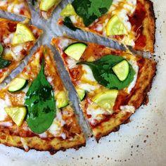 Mind Over Munch   Cauliflower Pizza Crust