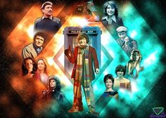 image size: 2100 x 1500 Doctor's Friends Eighth Doctor, 4th Doctor, Twelfth Doctor, Doctor Who, Television Program, Time Lords, Tardis, Deviantart, Friends
