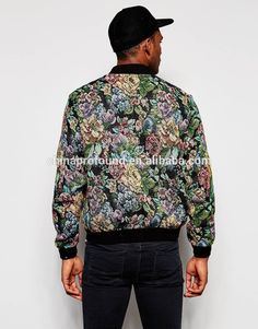 Mens sublimation printing all over printing polyester bomber jacket, View boys fancy jacket, OEM Product Details from Guangzhou Profound Garment Co., Ltd. on Alibaba.com