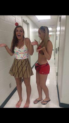Ice cream cone Halloween costume