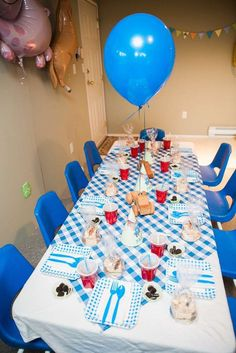 Little Blue Truck Birthday Party Ideas | Photo 1 of 36