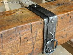 Fireplace Mantels with Metal Straps and Iron Accents part 1 - As far as we call tell, we were one of the, if not the, first companies to work hand-forged firepla -